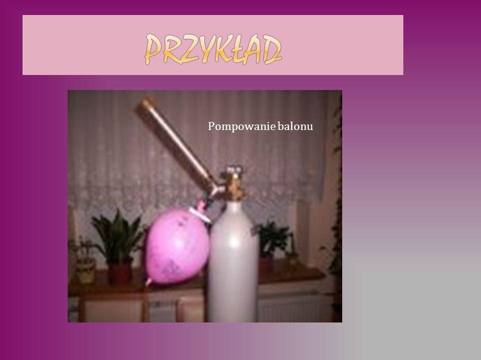 Pompowanie balonu