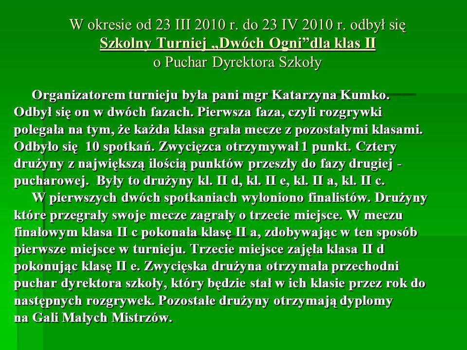 W okresie od 23 III 2010 r.do 23 IV 2010 r.