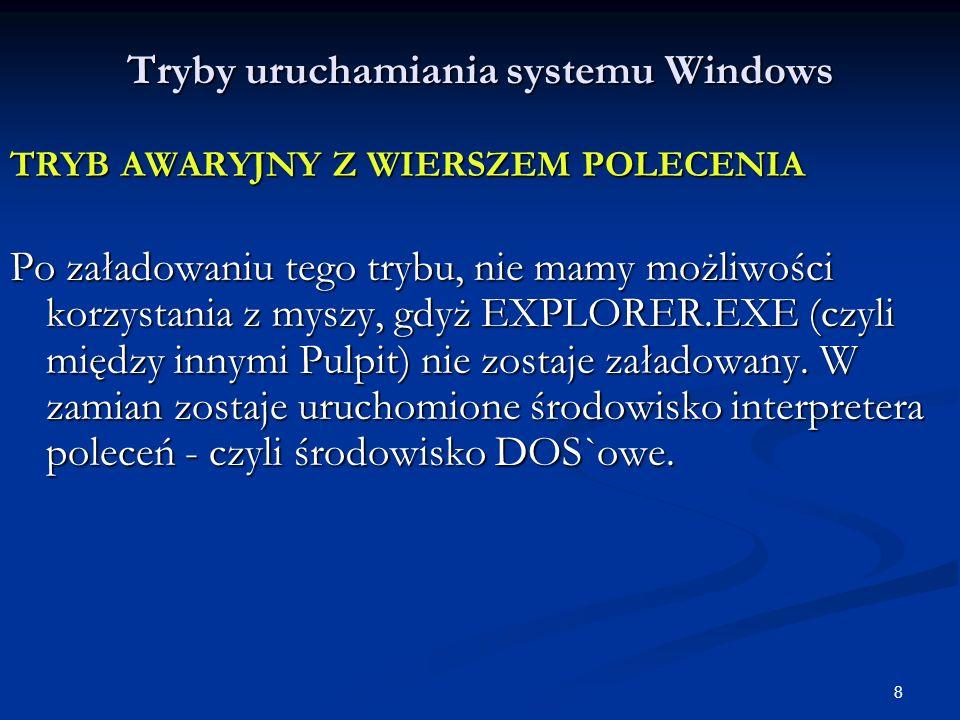 59 Jądro systemu WINDOWS c.d.