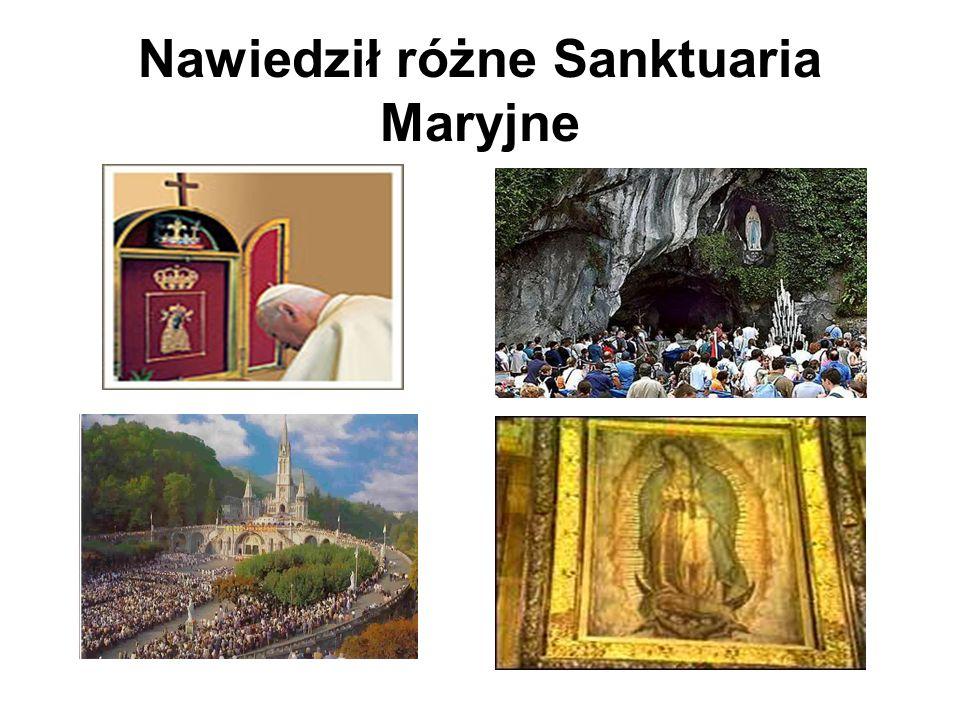 Przeszedł do DOMU OJCA W pierwszą sobotę – dzień poświęcony Niepokalanemu Sercu Maryi, której zawierzył wszystko [ 2 IV 2005 o godz.