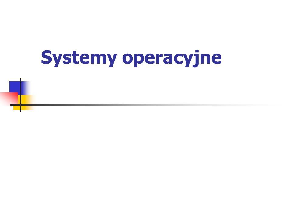 Systemy operacyjne Microsoft MS-DOS to wersja systemu operacyjnego DOS dla komputerów IBM-PC (ver.6.22) Nie jest systemem wielozadaniowym, tzn.