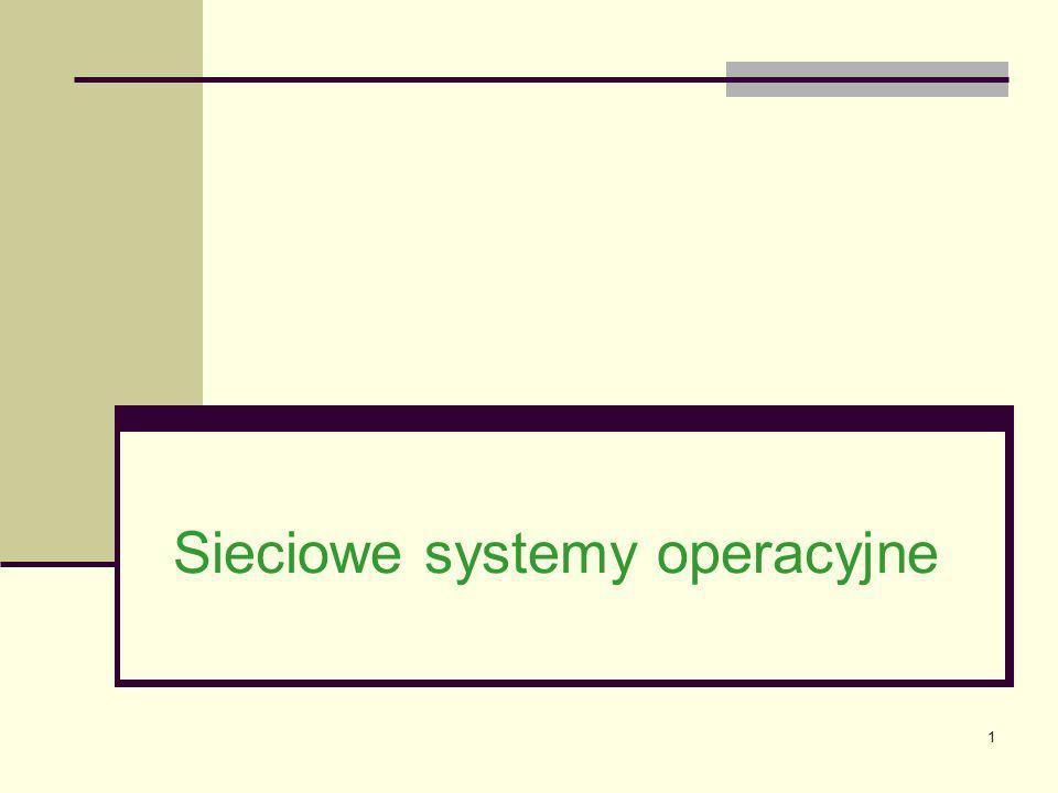 2 Trendy i ich ewolucja Wszystkie najważniejsze systemy operacyjne dla sieci LAN są wystarczająco szybkie dla praktycznie każdej organizacji.