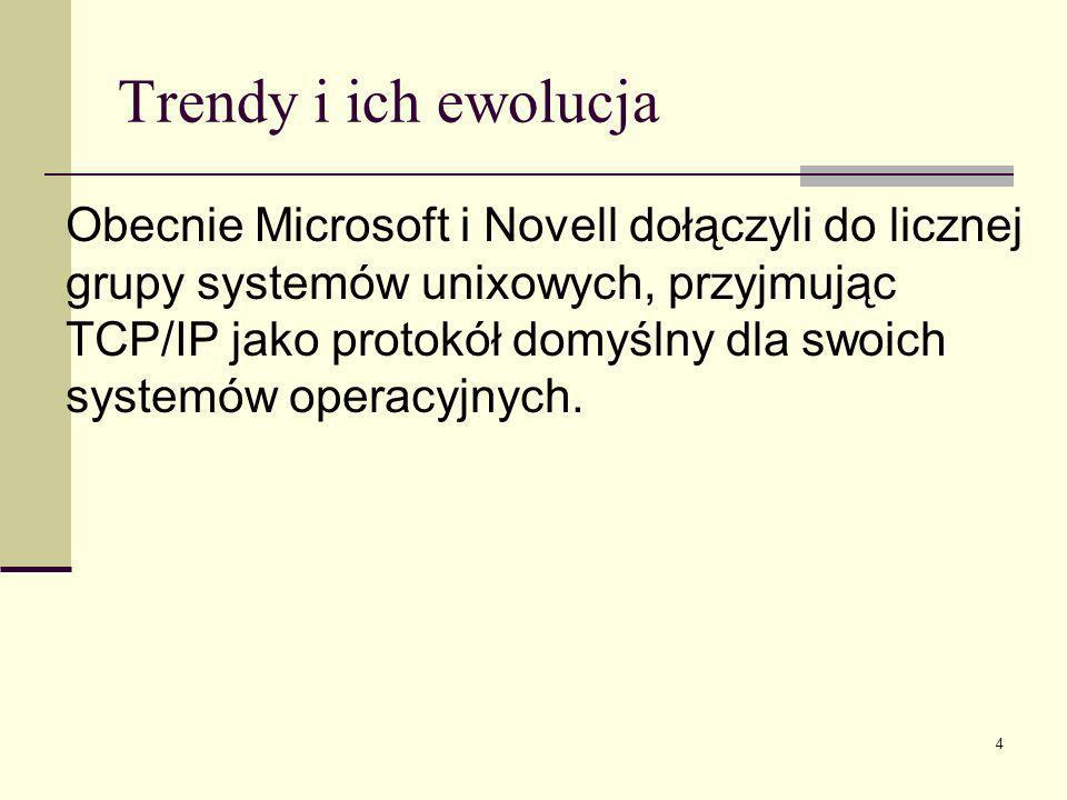 15 System NetWare Funkcje Cechą NetWare jest dynamiczna konfiguracja zasobów (Dynamic Resource Configuration – DRC).