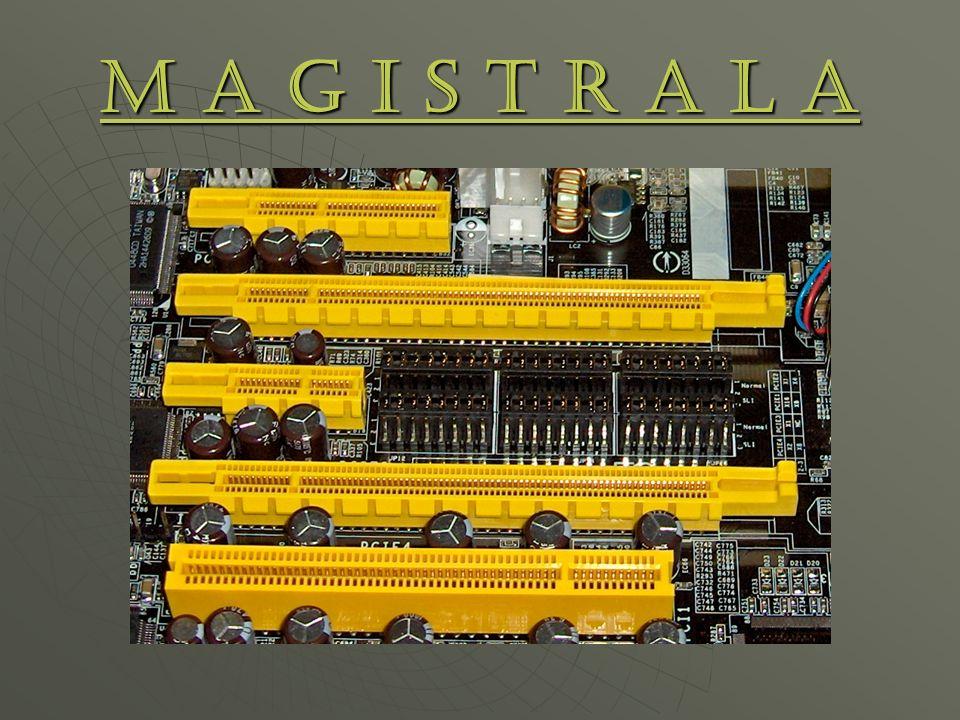 Magistrala Centralną częścią komputera jest oczywiście procesor umieszczony w odpowiednim wejściu na płycie głównej, pozostałe elementy płyty, takie jak np: karty rozszerzające czy pamięć, kontaktują się z procesorem poprzez szyny danych zwane magistralami.