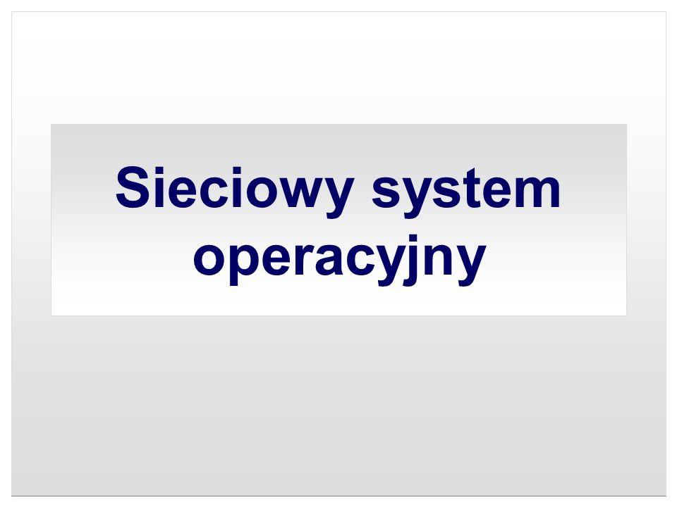Sieciowy system operacyjny