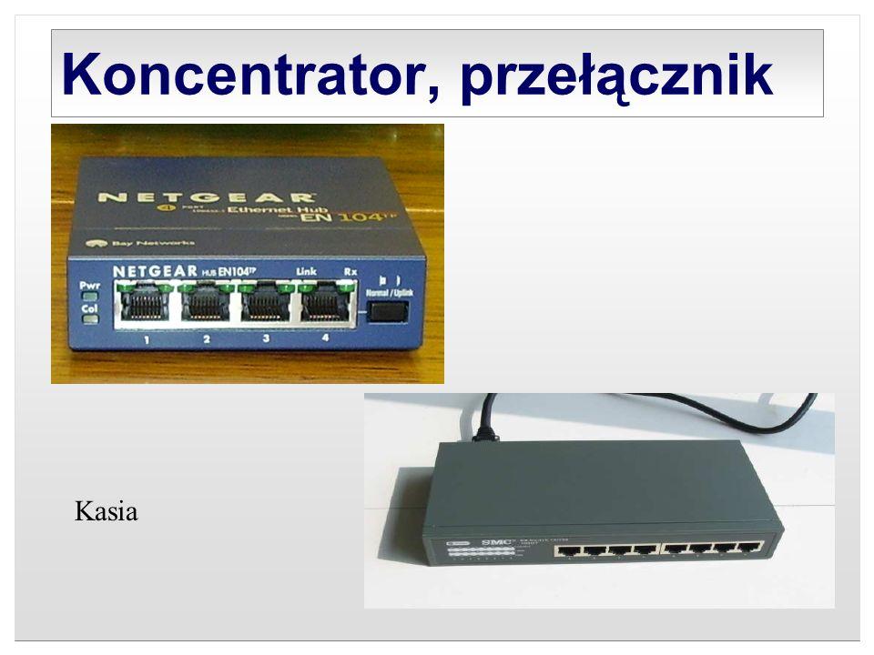 Koncentrator, przełącznik Kasia