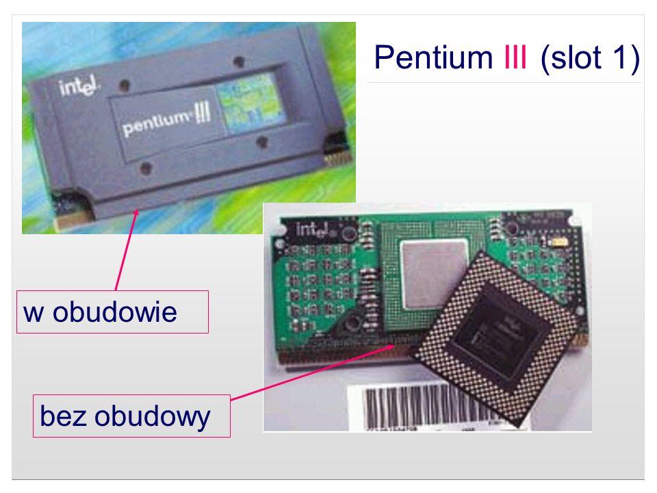 Pentium III (slot 1) w obudowie bez obudowy
