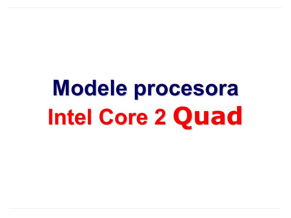 Modele procesora Intel Core 2 Quad