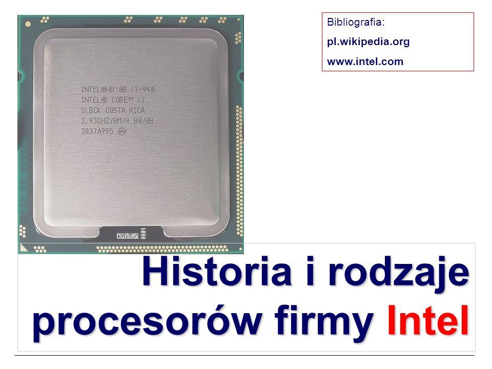 Architektura procesora Intel 4004