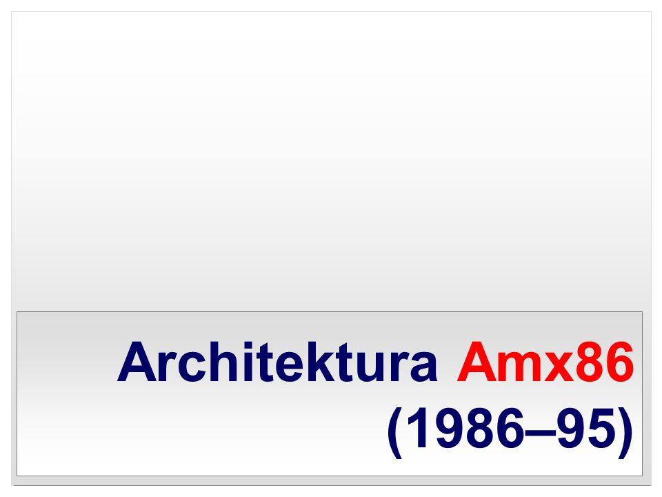 Architektura Amx86 (1986–95)