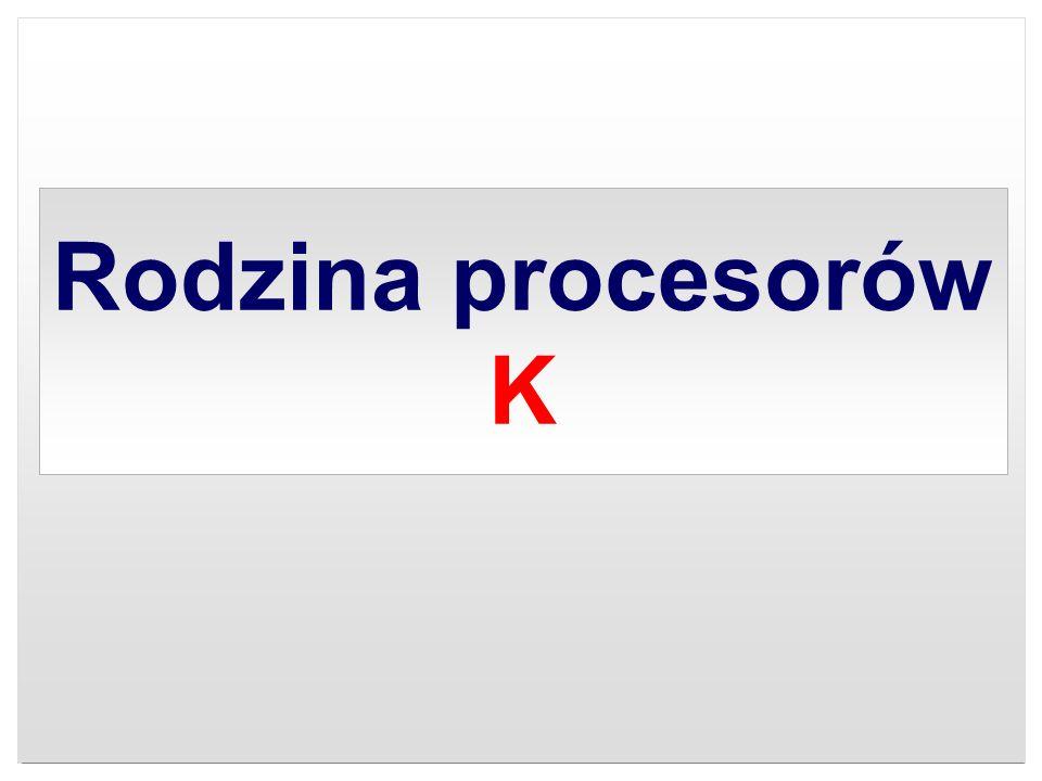 Rodzina procesorów K