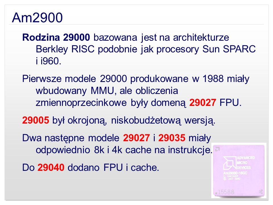 Seria K8 Athlon ModelProdukowany od Athlon 64 FX (SledgeHammer)2003 Athlon 64 (ClawHammer/Newcastle)2003 Mobile Athlon 64 (Newcastle)2004 Athlon XP-M (Dublin)2004 Athlon 64 (Winchester)2004 Athlon 64 FX (San Diego)2005 Athlon 64 (Venice)2005 Athlon 64 (Orleans)2006