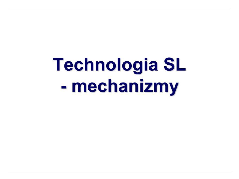 Technologia SL - mechanizmy