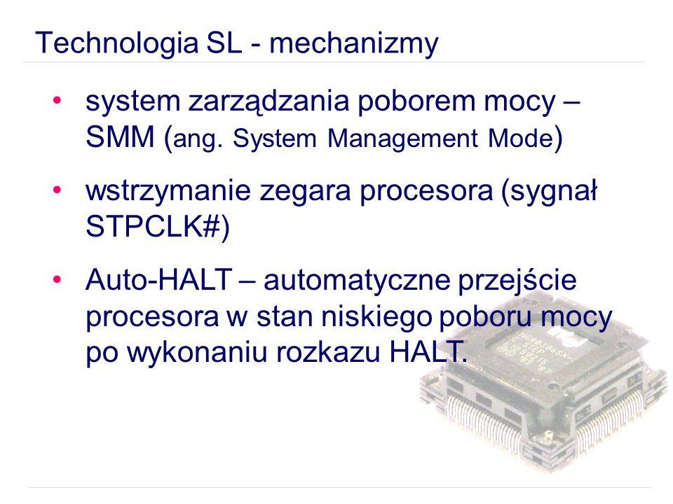 system zarządzania poborem mocy – SMM ( ang.