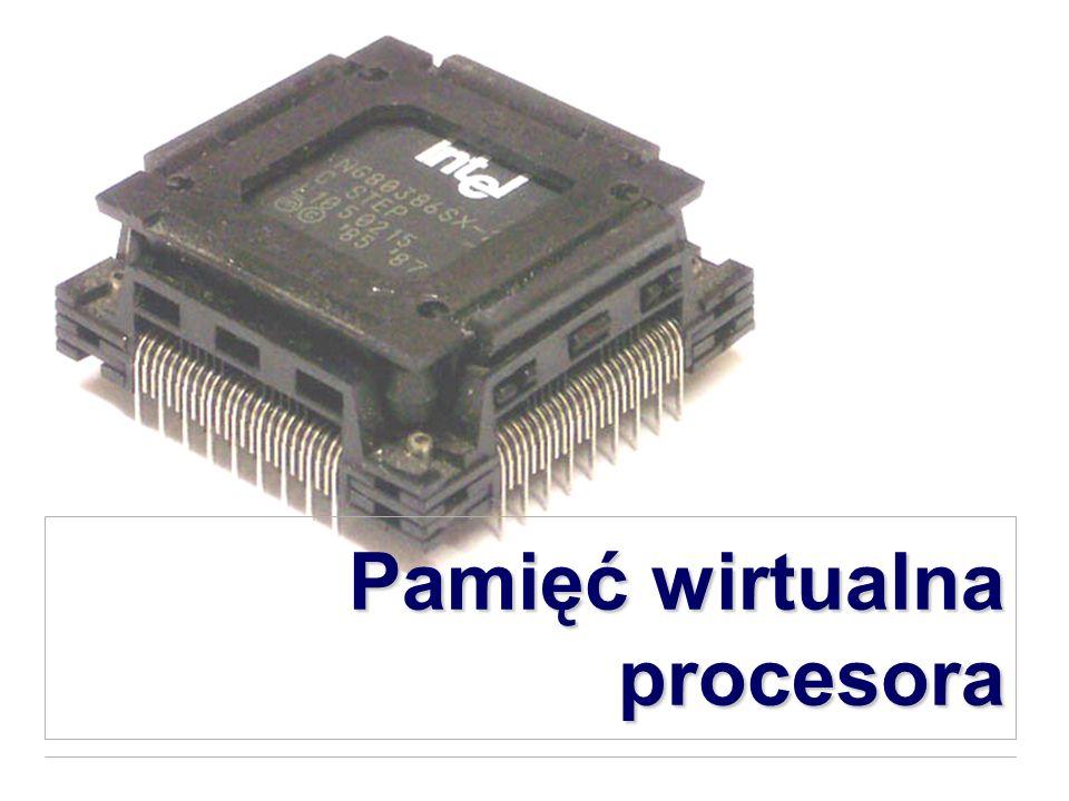 Pamięć wirtualna procesora