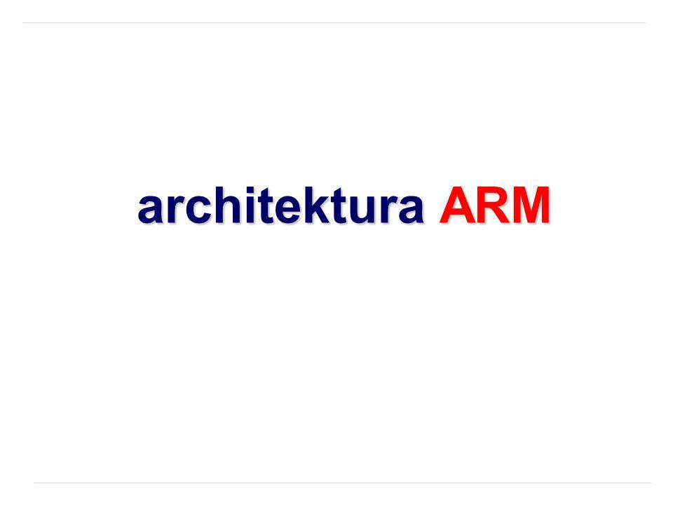 architektura ARM