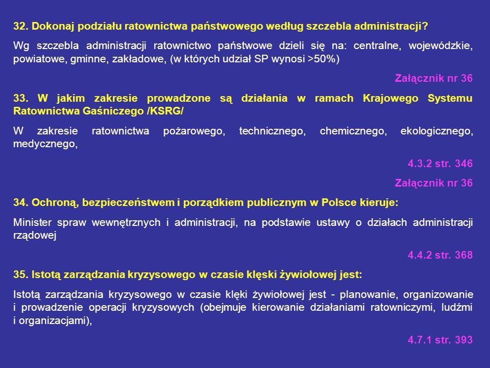28. Co oznacza skrót HNS? Oznacza: wsparcie państwa-gospodarza (Host Nation Support – HNS) 3.11 str. 300 29. Wymień zasadnicze przedsięwzięcia ochrony