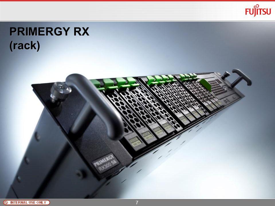 PRIMERGY TX300 S6 Copyright 2009 FUJITSU TECHNOLOGY SOLUTIONS Duże możliwości rozbudowy 2x Intel Xeon 56xx 192GB RAM DDR3 1333MHz ECC (UDIMM / RDIMM,