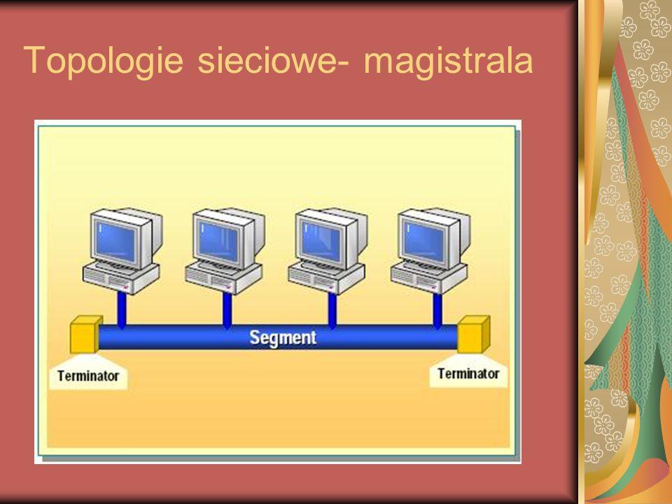 Topologie sieciowe- magistrala