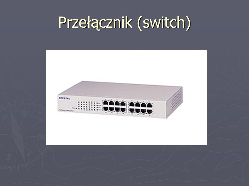 Przełącznik (switch)