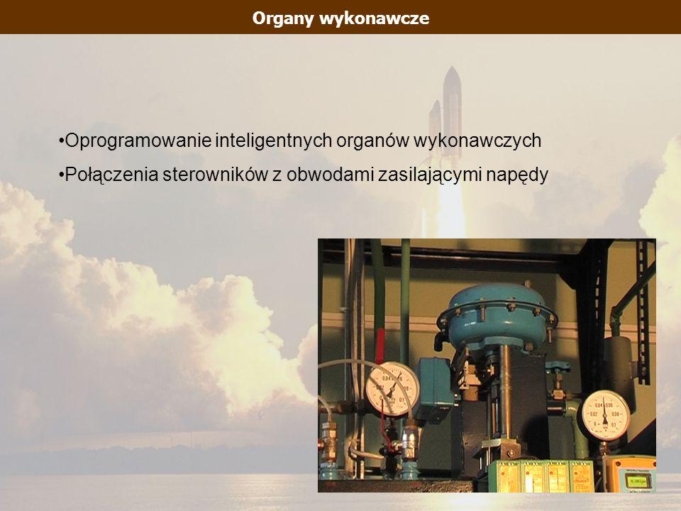 Organy wykonawcze Oprogramowanie inteligentnych organów wykonawczych Połączenia sterowników z obwodami zasilającymi napędy