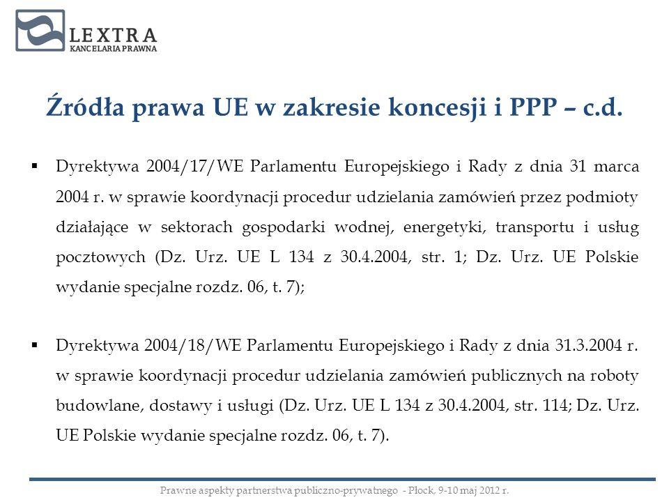 Dyrektywa 2004/17/WE Parlamentu Europejskiego i Rady z dnia 31 marca 2004 r. w sprawie koordynacji procedur udzielania zamówień przez podmioty działaj