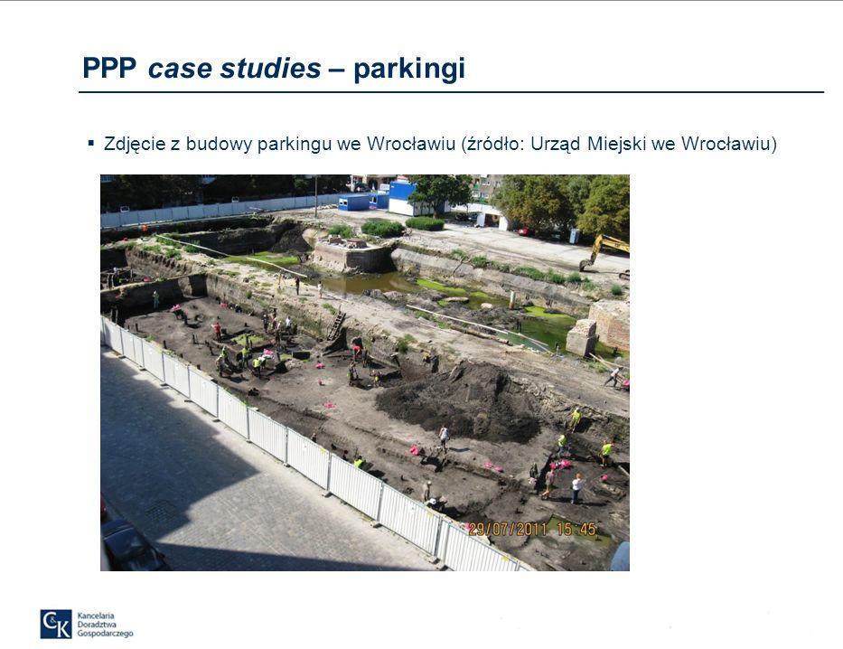 Zdjęcie z budowy parkingu we Wrocławiu (źródło: Urząd Miejski we Wrocławiu)