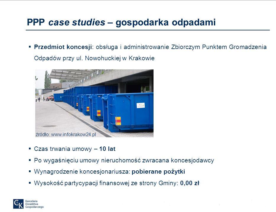 PPP case studies – energetyka Projekt: Koncesja na świadczenie usług w zakresie zarządzania gospodarką energetyczną dla mieszkańców osiedla w m.