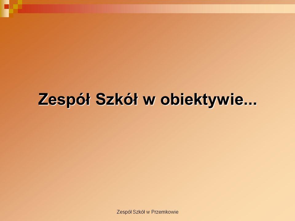 Zespół Szkół w Przemkowie Zespół Szkół w obiektywie...