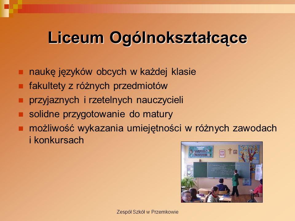 Liceum Ogólnokształcące naukę języków obcych w każdej klasie fakultety z różnych przedmiotów przyjaznych i rzetelnych nauczycieli solidne przygotowani
