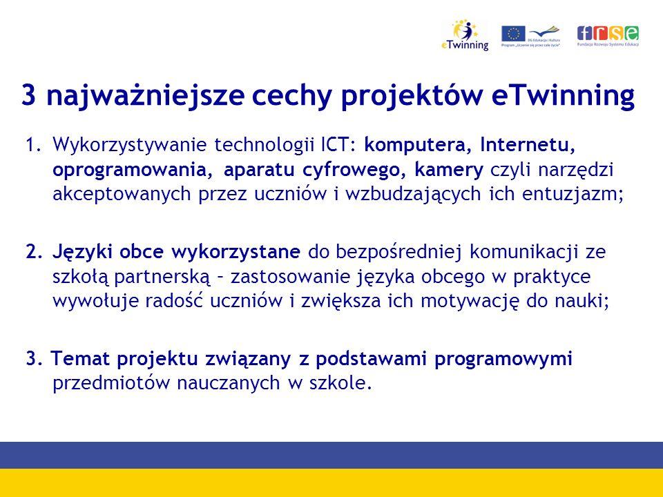 Technika wykorzystywana w projektach eTwinning Źródło: europejska baza danych eTwinning – NSS Desktop.