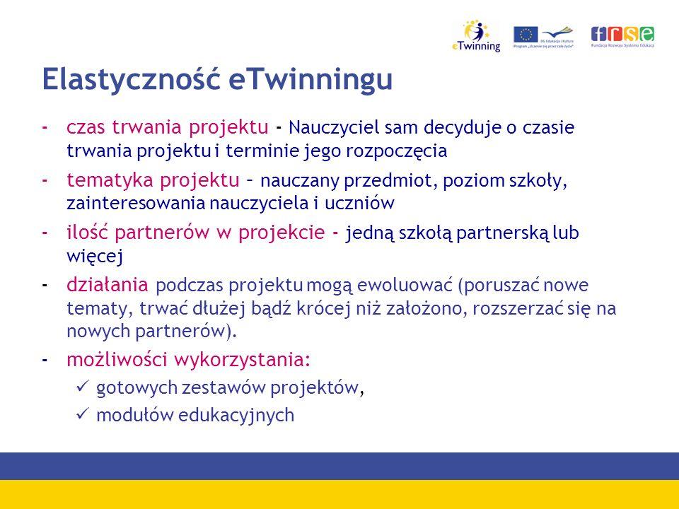 Laureaci konkursu Nasz projekt eTwinning II edycja - 2006 Kategoria wiekowa 13 – 15 lat I miejsce – projekt Sąsiedzi przyjaciele Gimnazjum nr 1 im.