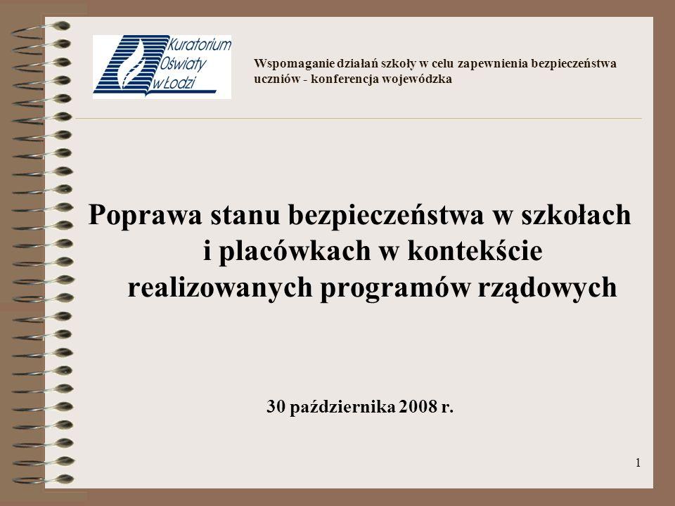 32 Samorządy – Partnerzy Lokalni Programu II edycja Programu 2007/2008 odbyła się we współpracy z jednostkami samorządowym z całego kraju.