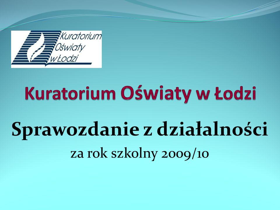 Sprawozdanie z działalności za rok szkolny 2009/10