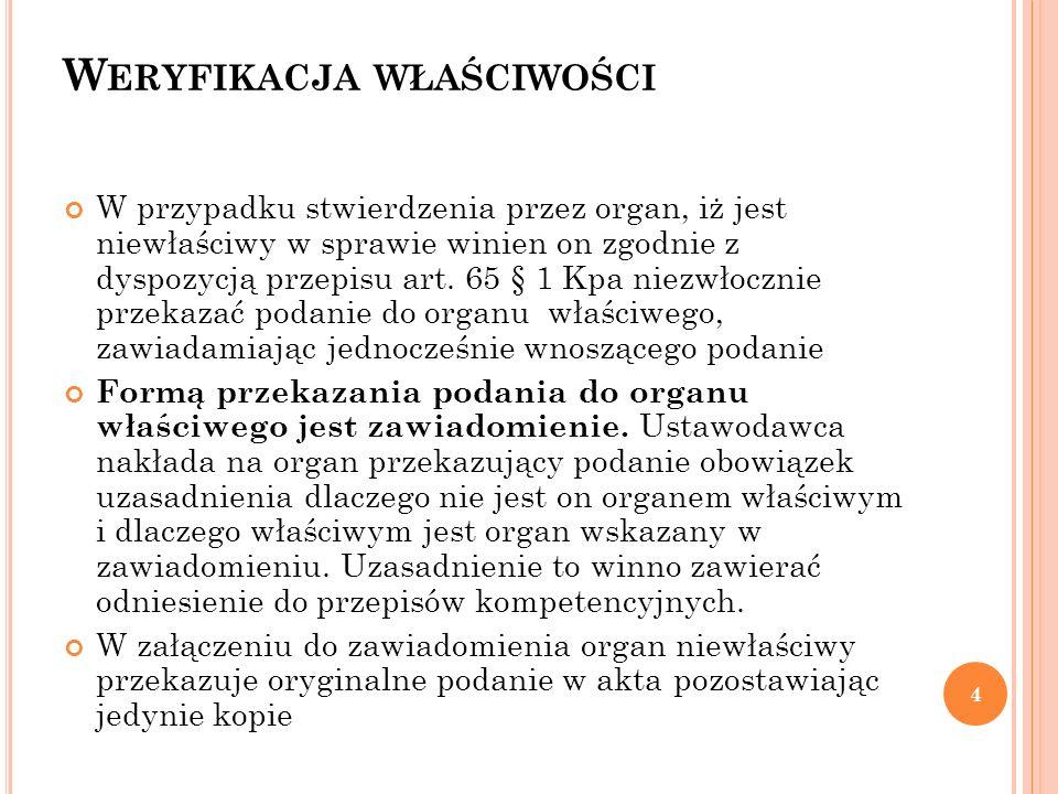 S TATUS STRONY Art.28.