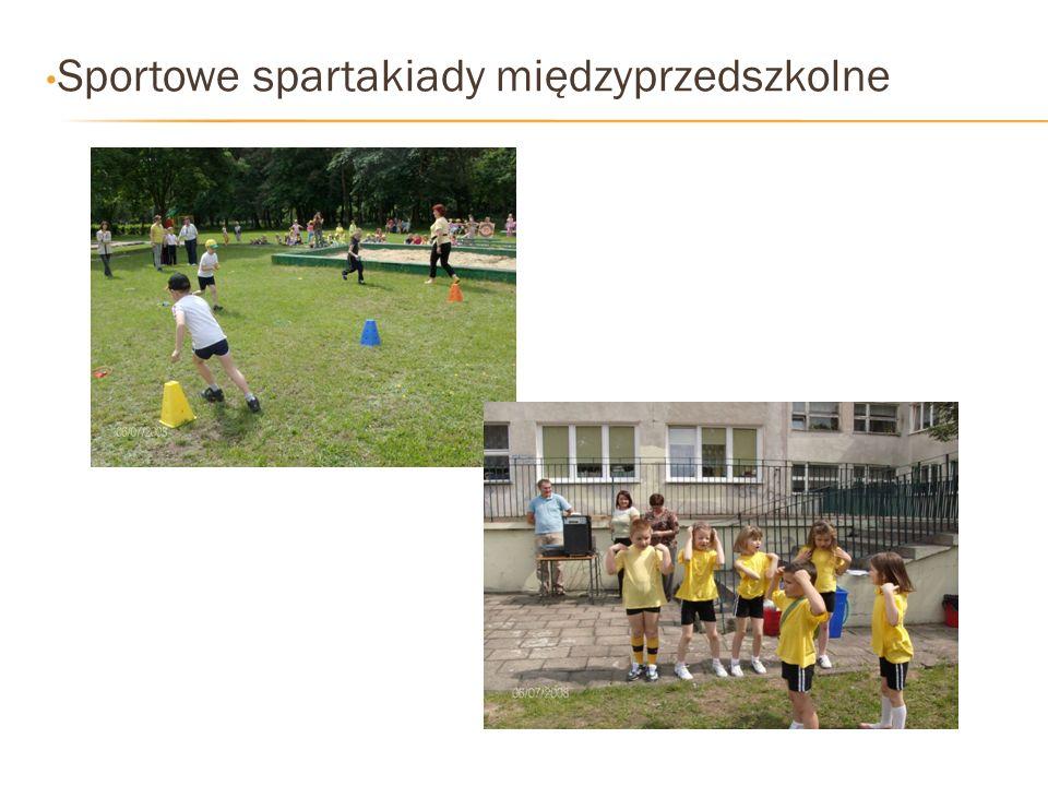 Sportowe spartakiady międzyprzedszkolne