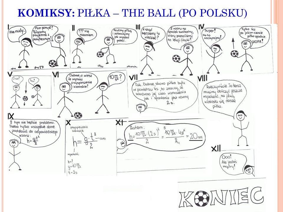 KOMIKSY: PIŁKA – THE BALL (PO POLSKU)