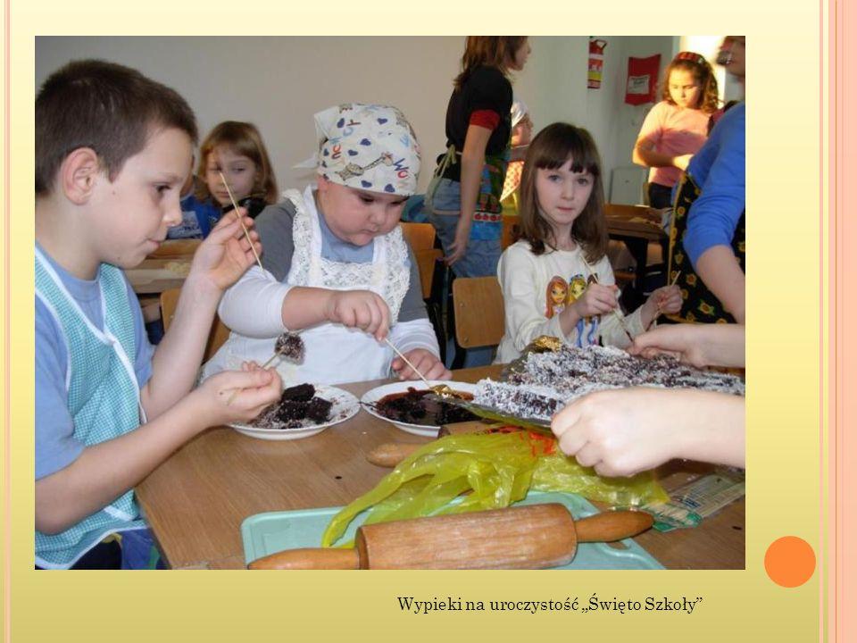 Wypieki na uroczystość Święto Szkoły