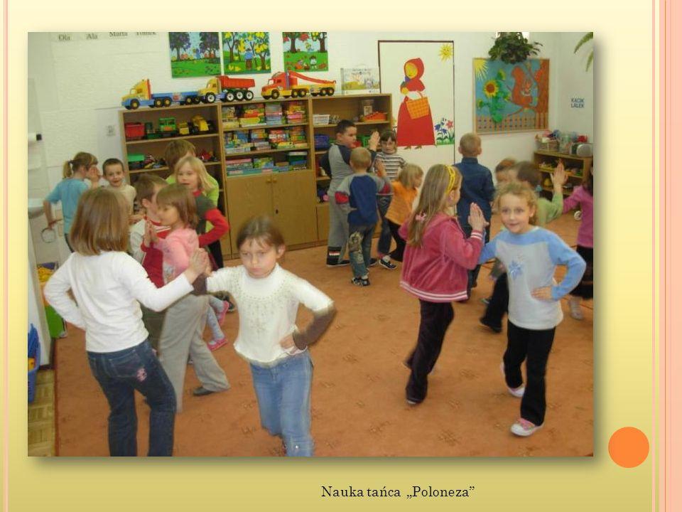 Nauka tańca Poloneza