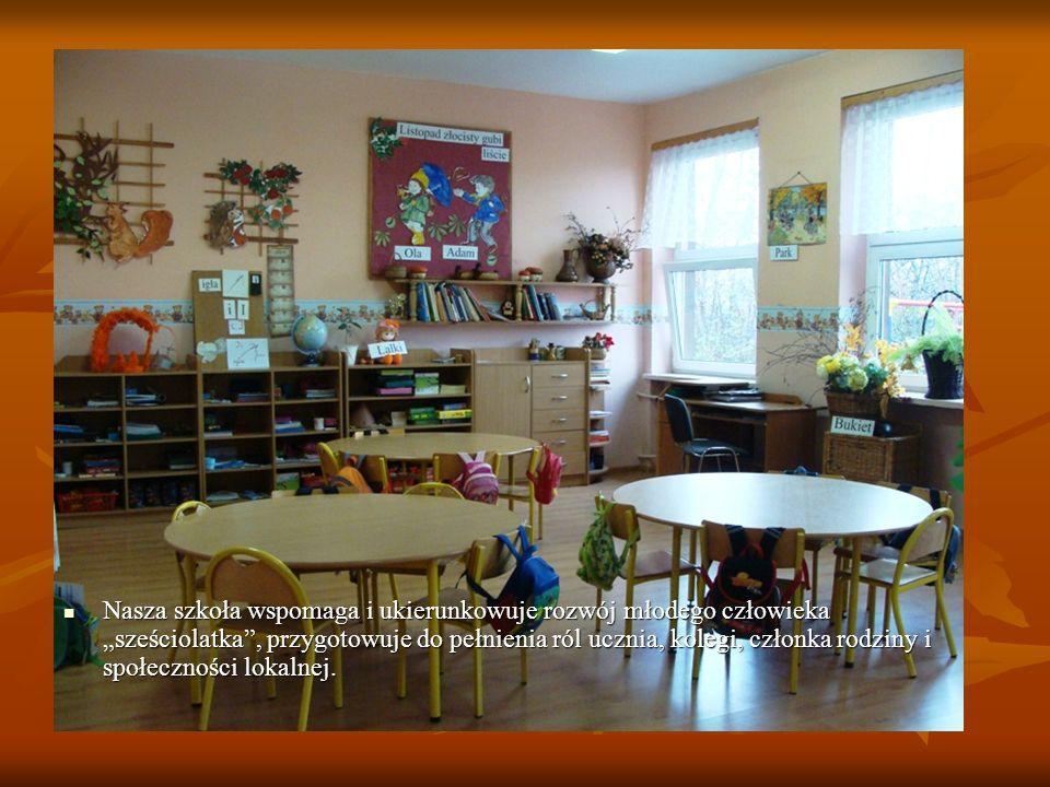 Nasza szkoła wspomaga i ukierunkowuje rozwój młodego człowieka sześciolatka, przygotowuje do pełnienia ról ucznia, kolegi, członka rodziny i społeczno