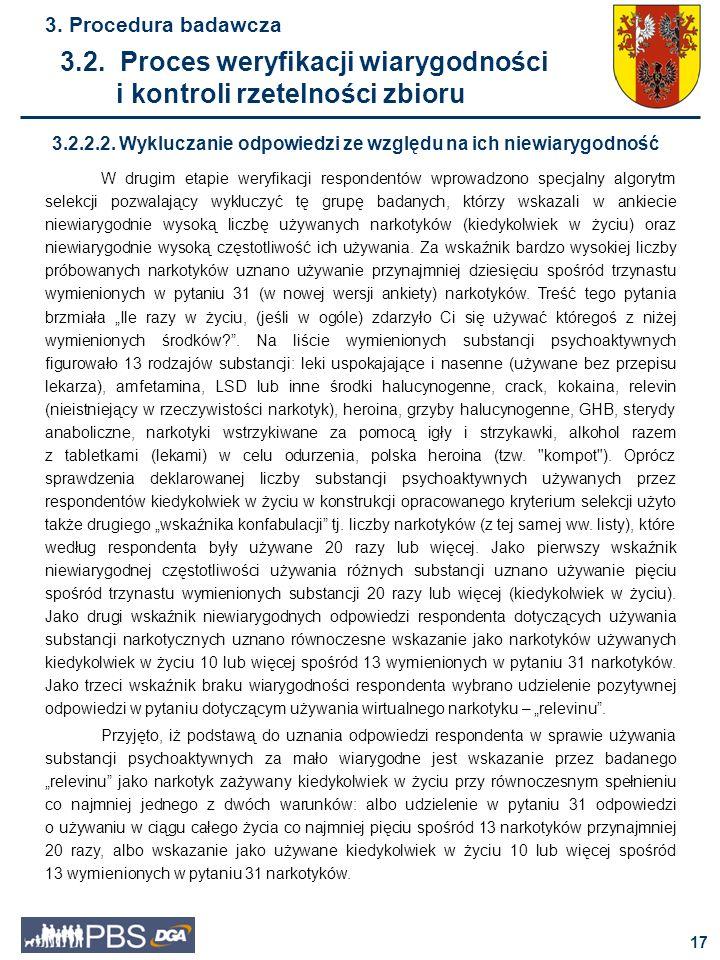 18 3.Procedura badawcza 3.2.