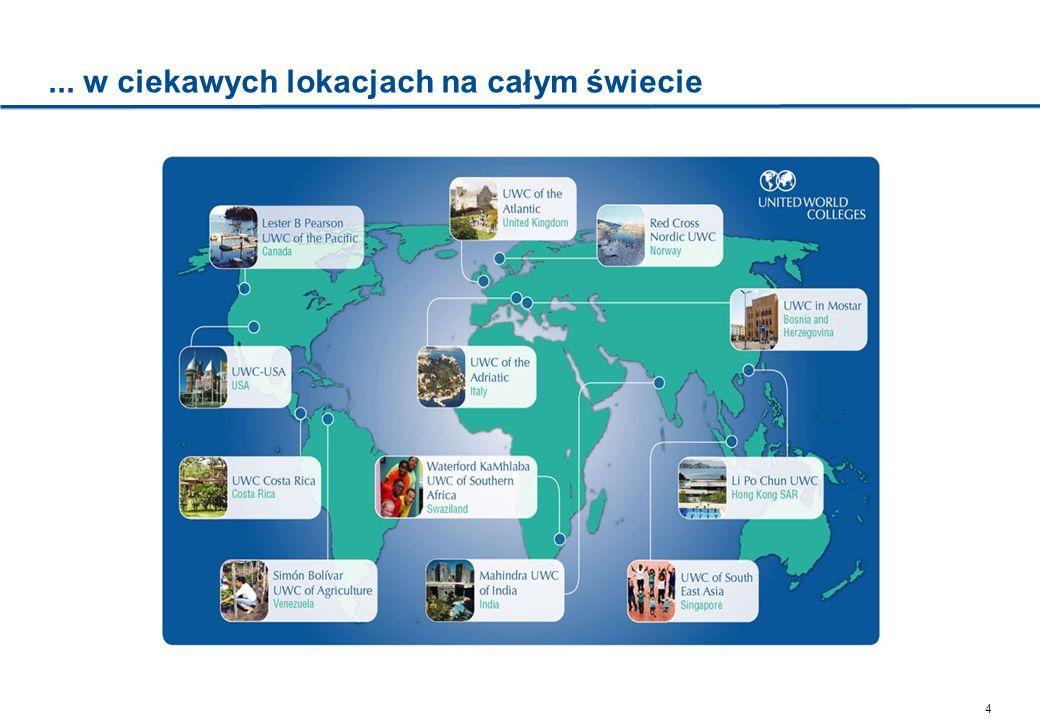 5 Wybrane szkoły ukończone przez polskich stypendystów Atlantic College – Wielka Brytania Opis Założony w 1962 r.