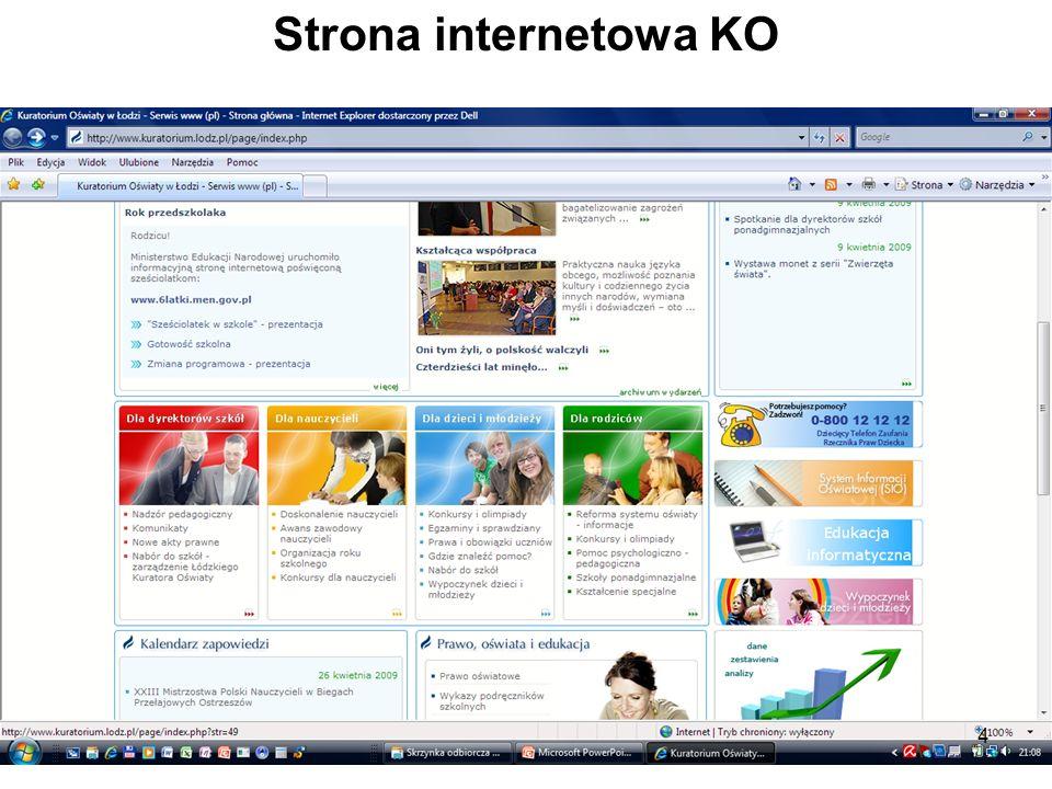Strona internetowa KO 4