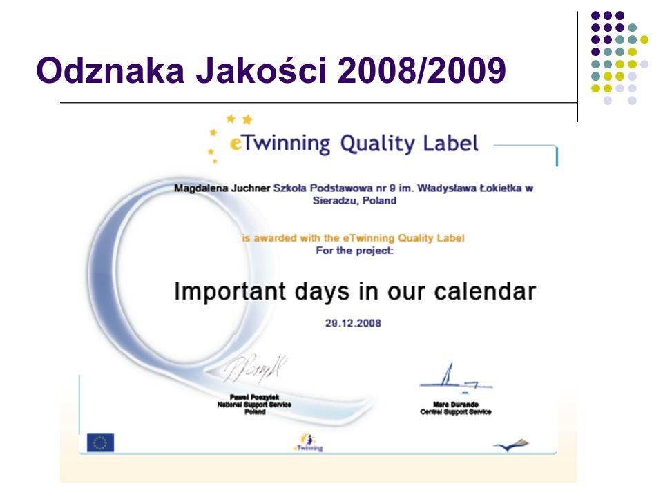 Odznaka Jakości 2008/2009