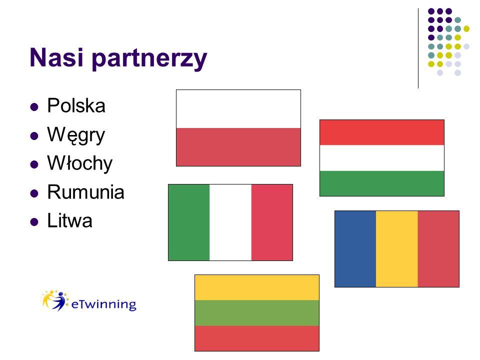 Nasi partnerzy Polska Węgry Włochy Rumunia Litwa