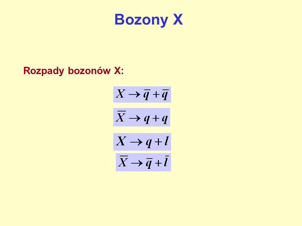 Przy temperaturach T > 10 28 K pary X + anty-X powstają i anihilują zupełnie symetrycznie.