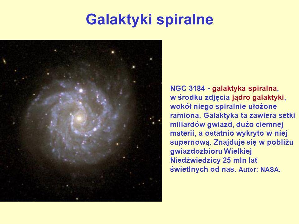 Galaktyki aktywne Aktywne jądro galaktyki Centaur A.