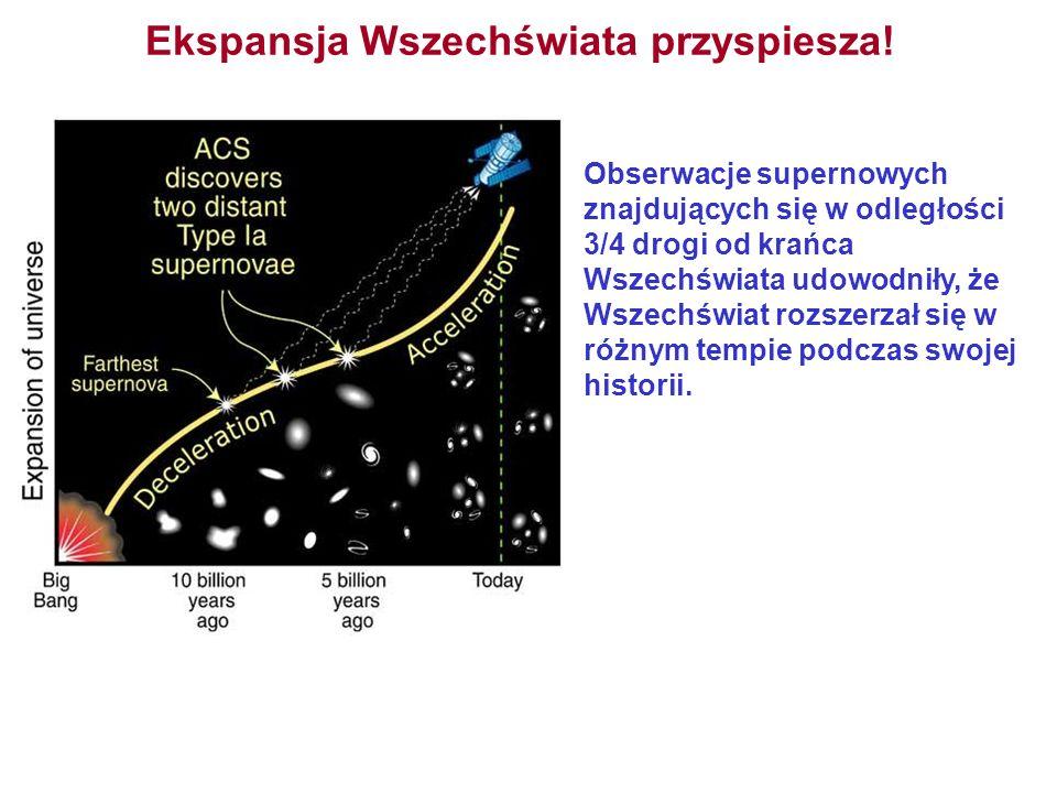 Ekspansja Wszechświata przyspiesza! Obserwacje supernowych znajdujących się w odległości 3/4 drogi od krańca Wszechświata udowodniły, że Wszechświat r