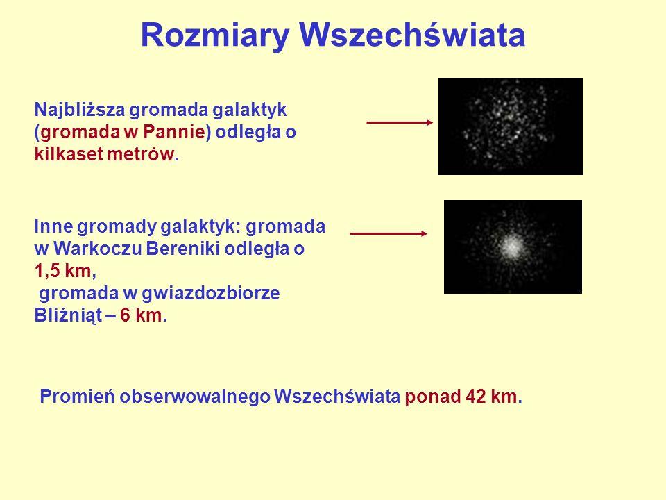 Najbliższa gromada galaktyk (gromada w Pannie) odległa o kilkaset metrów. Inne gromady galaktyk: gromada w Warkoczu Bereniki odległa o 1,5 km, gromada