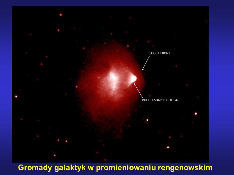 Gromady galaktyk w promieniowaniu rengenowskim